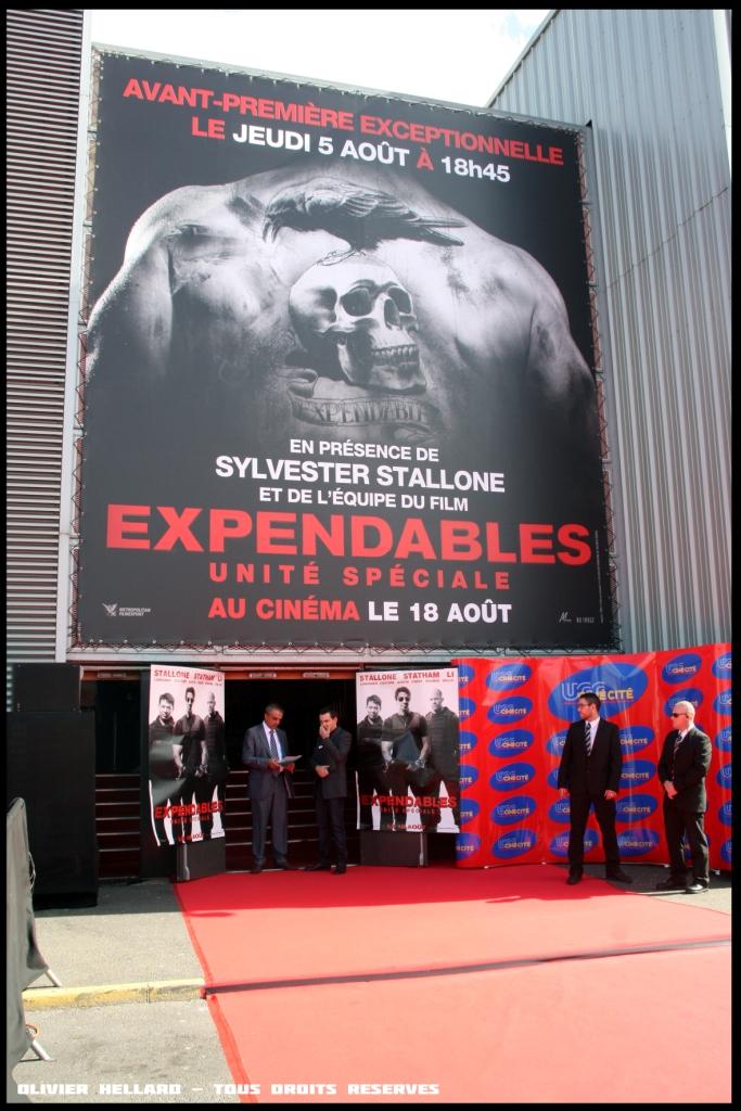 """EXPENDABLES: UNITÉ SPÉCIALE"""" UGC - RENCONTRE STALON - Jason STATHAM - Dolph LUNDGREN - UGC CINE CITE ROSNY"""